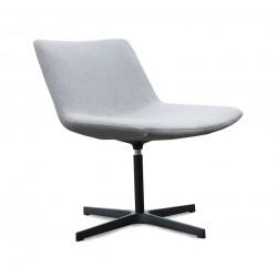 Couz Loungestol i lysgrå stof