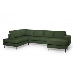 Couz 168, U-sofa med...